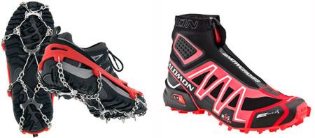 Кроссовки для бега по льду